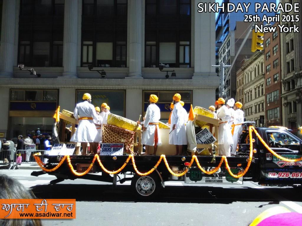 Sikhday Parade 2015 NYC