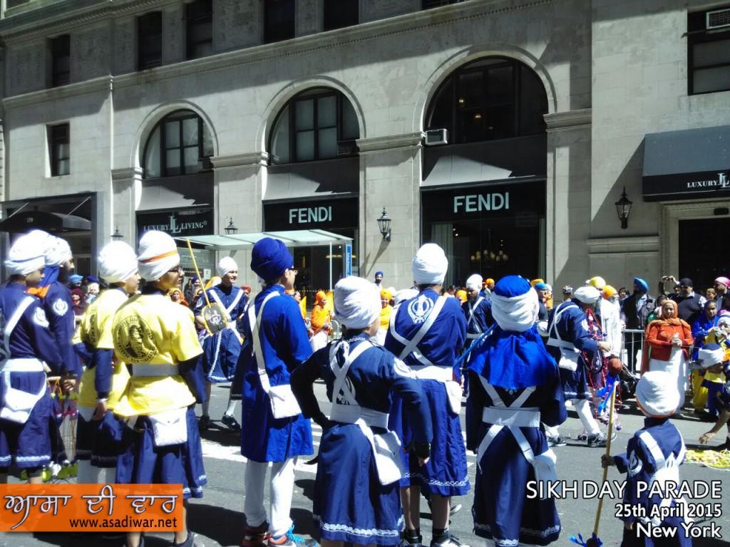 Gatka (Sikh Martial Art) at Sikh day Parade (NYC) 2015