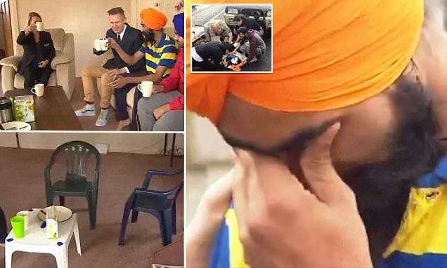 Sikh hero removes turban to help bleeding boy, rewarded with furniture