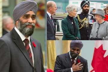 Harjit Sajjan, MP for Vancouver South, named minister of defence