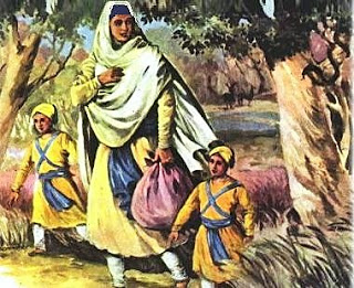 Mata Gujri Jee and Sahibzaade